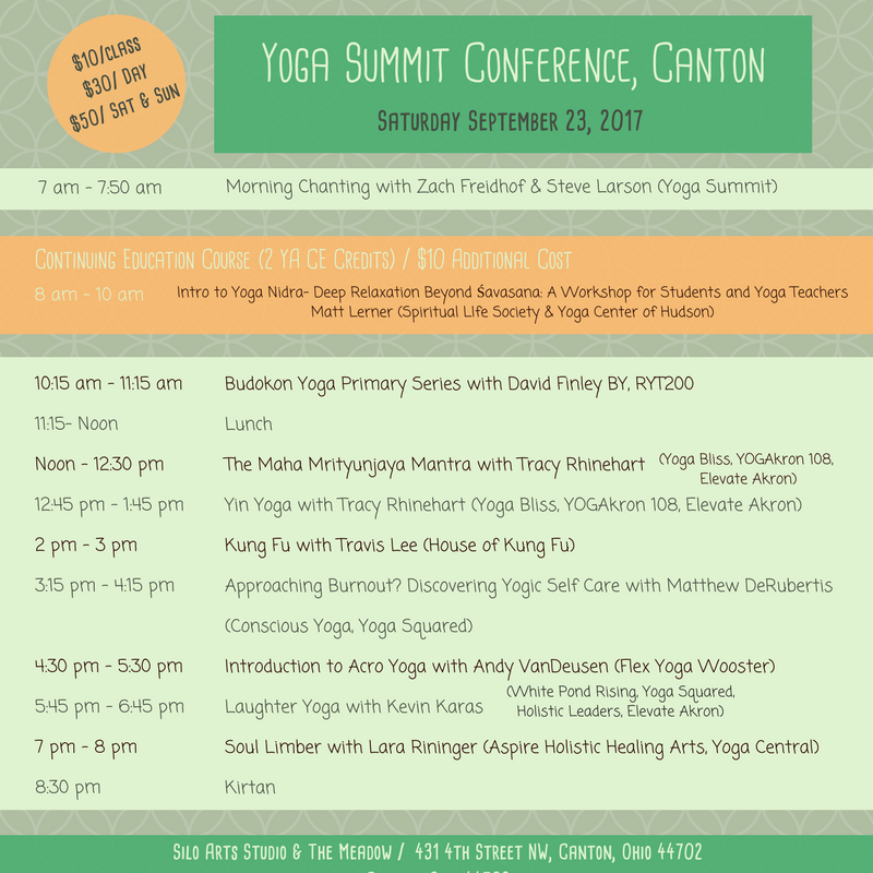 Yoga Summit_Sat_Schedule
