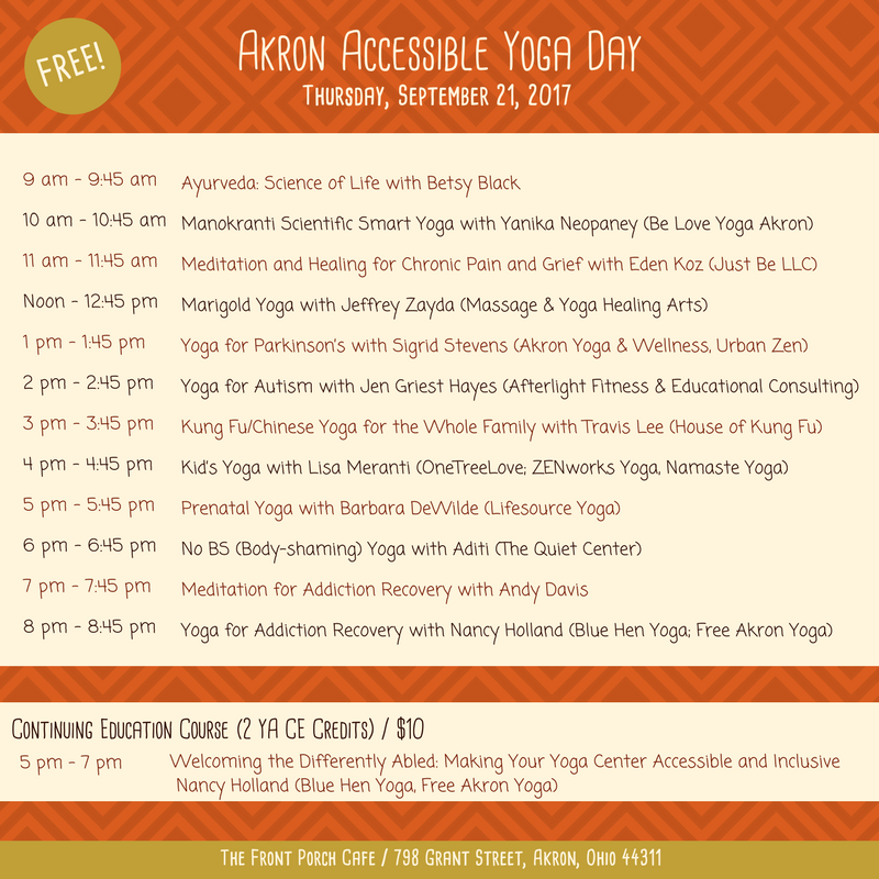Yoga Summit_Thurs Schedule_Akron