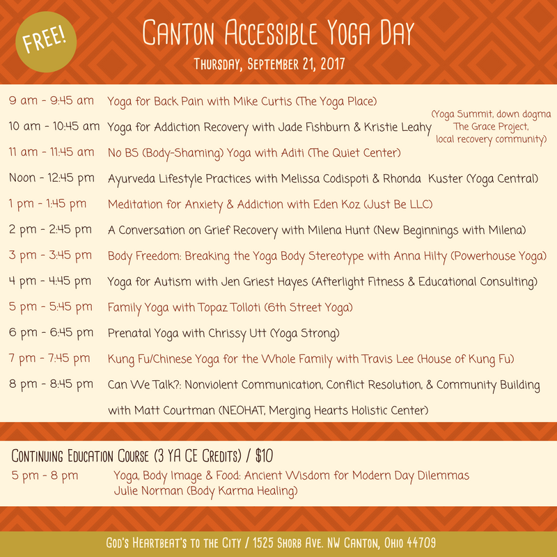 Yoga Summit_Thurs Schedule_Canton