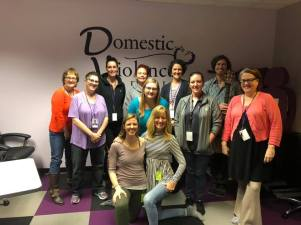 Yoga Summit domestic violence project