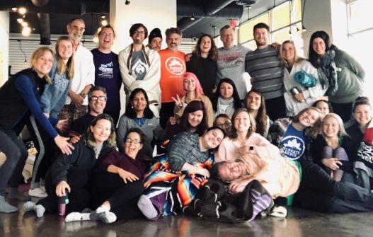 yoga summit group photo 2018