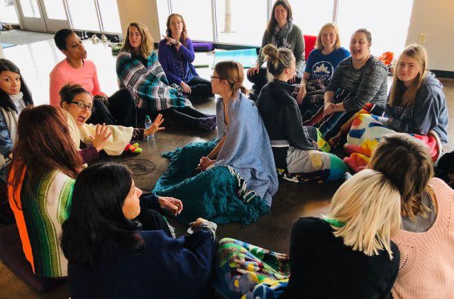yoga summit ladies meditation 2018
