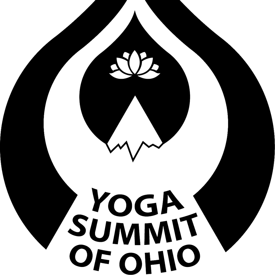 yoga summit logo black and white